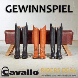 Cavallo Reitstiefel Gewinnspiel RidersDeal