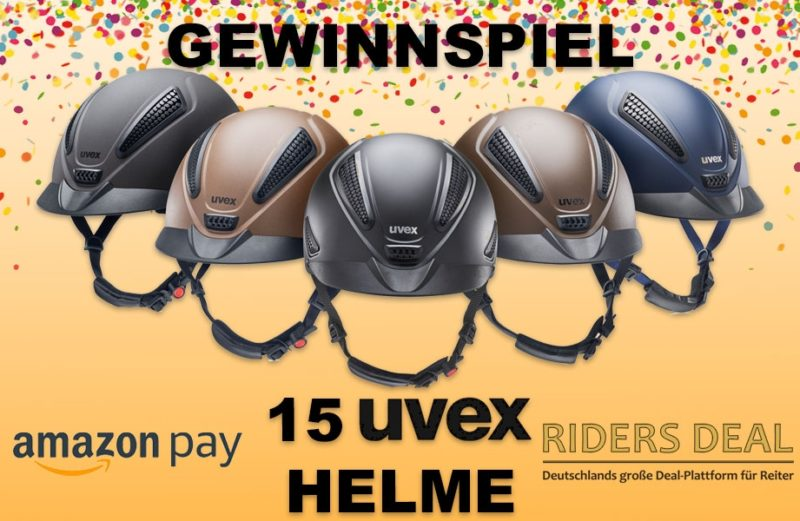 Riders Deal Gewinnspiel Uvex Reithelme amazon pay