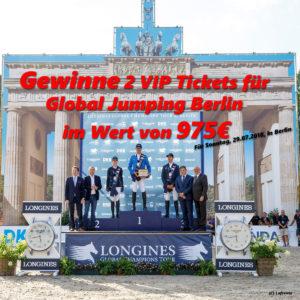 RidersDeal Gewinnspiel Global Jumping Berlin