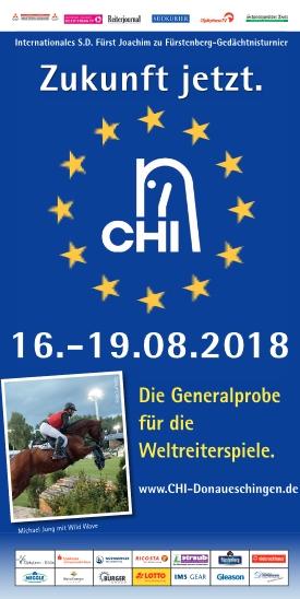 S.D. Fürst Joachim zu Fürstenberg Gedächtnisturnier-Donaueschingen 2018