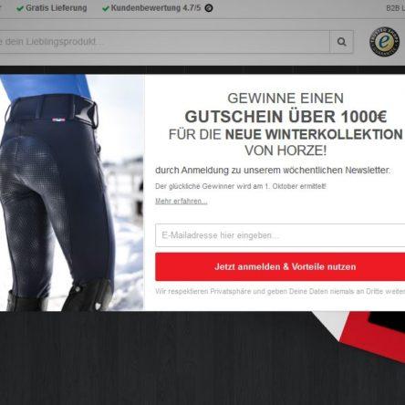 Gewinne einen 1.000 € Gutschein für die neue Winterkollektion von HORZE