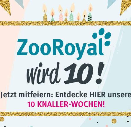 10 Jahre ZooRoyal – Jubiläumswochen!
