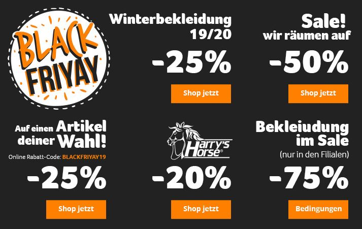 Black Friday Epplejeck Reitsport