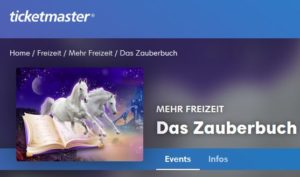 Ticketmaster Black Friday Tickets Das Zauberbuch