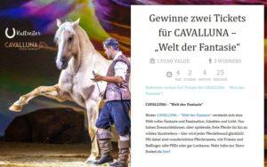 CAVALLUNA Tickets bei Kultreiter gewinnen