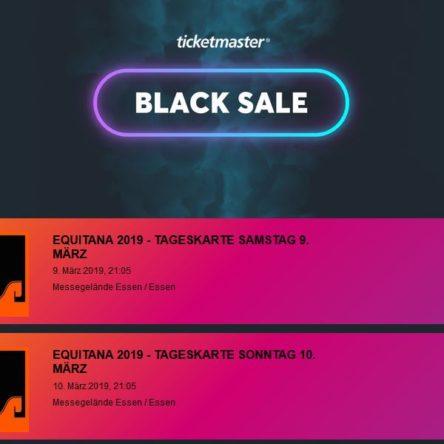 EQUITANA Tickets 20 % reduziert am Black Friday