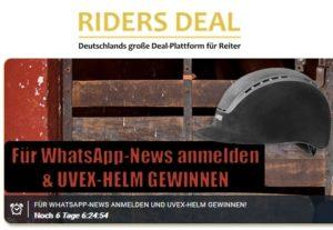UVEX Reithelm bei Riders Deal zu gewinnen