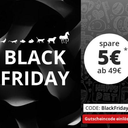 Black Friday bei ZooRoyal – 5 € Gutschein