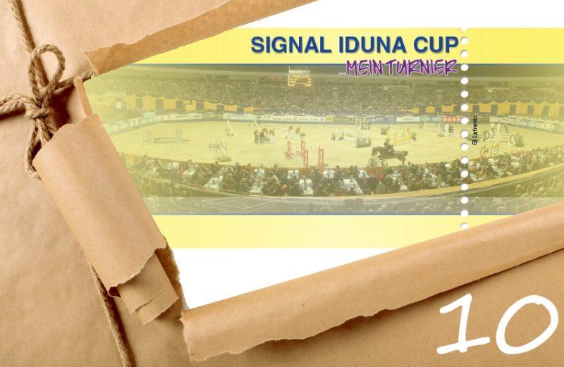 Adventskalender Türchen 10 Tickets Signal Iduna Cup Dortmund