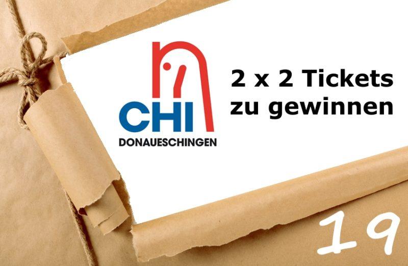 Adventskalender 19. Dezember 2019 Tickets CHI Donaueschingen