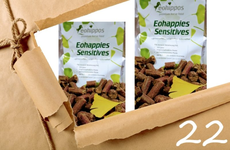 Adventskalender 22. Dezember 2018 - Eohappies Sensitives