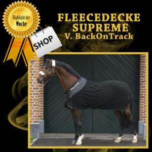 Back on Track Fleecedecke Supreme