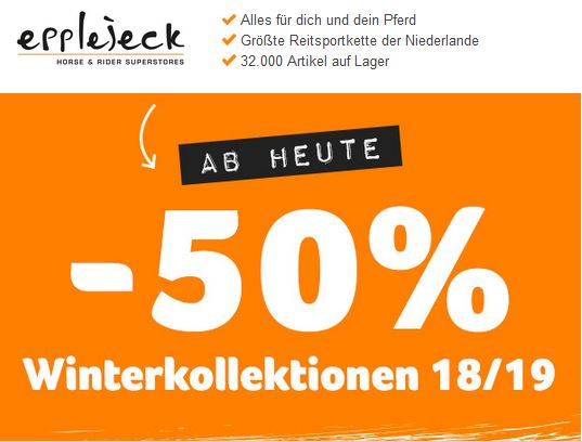 Epplejeck Wintersale 2019