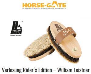 Horse Gate Verlosung William Leistner Bürsten