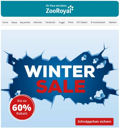 ZooRoyal Winter Sale