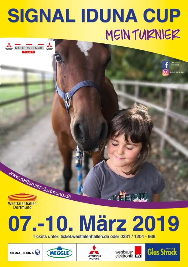 Laura Lübbe Plakatwettbewerb Signal Iduna Cup 2019
