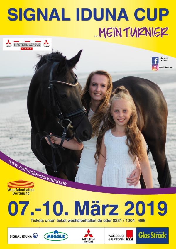 Nathalie Mescher Plakatwettbewerb Signal Iduna Cup