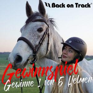 RidersDeal Gewinnspiel 5 Reithelme von Back on Track