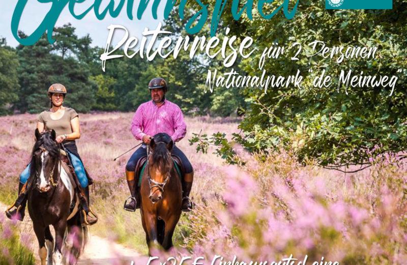Reiturlaub zu gewinnen bei RidersDeal