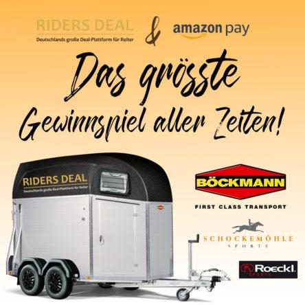 Gewinne einen Böckmann Pferdeanhänger bei RidersDeal
