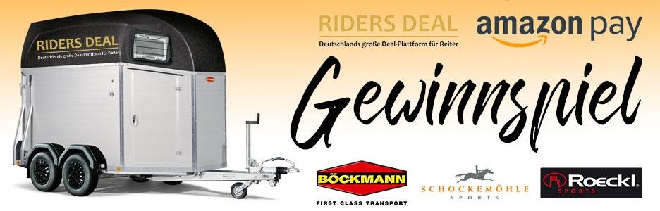 RidersDeal Gewinnspiel Böckmann Pferdeanhänger zu gewinnen