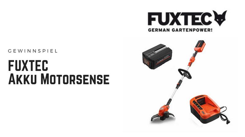 FUXTEC Akku Motorsense bei produkt-tests.com zu gewinnen