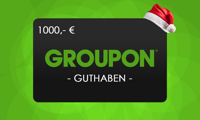 Gewinne 1.000 Euro Groupon Guthaben von Aboheld