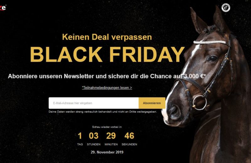 Horze Black Friday Verlosung