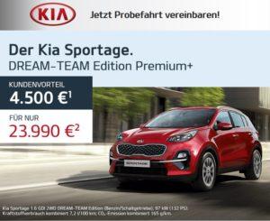 Kia Sportage - Jetzt Probefahrt vereinbaren!