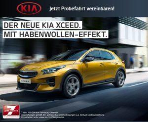 Der neue Kia XCeed mit Habenwollen-Effekt - Jetzt Probefahrt vereinbaren!