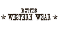 Better Western Wear Logo