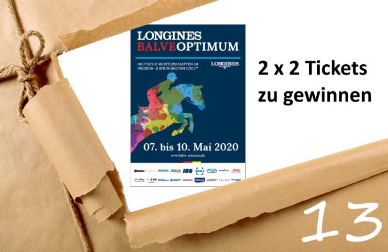 Adventskalender-Türchen 13/2019 - Tickets für das Balve Optimum