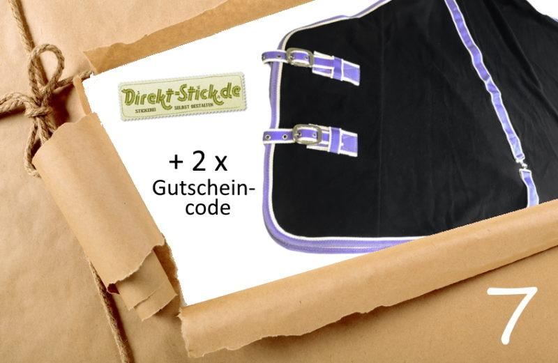 Adventskalener Türchen 7/2019 - Abschwitzdecke Direkt-Stick.de