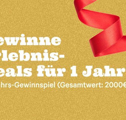 Neujahrs-Gewinnspiel bei GROUPON – Chance auf 2.000 € für Erlebnis-Deals