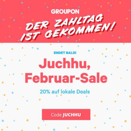 20 % Extra-Rabatt auf lokale Deals bei Groupon
