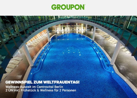 Groupon Gewinnspiel Weltfrauentag