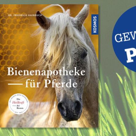 """Mein Pferd verlost 3 x """"Bienenapotheke für Pferde"""""""