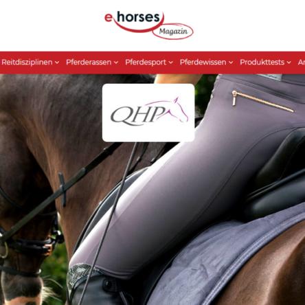 ehorses sucht 3 Produkttester für QHP-Reithose Saona