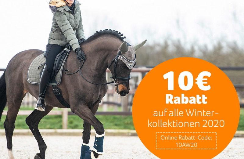 10 € Rabatt bei Epplejeck Reitsport