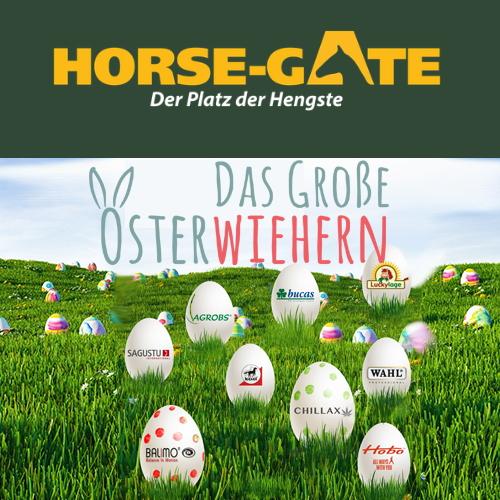 Horse Gate Oster-Gewinnspiel