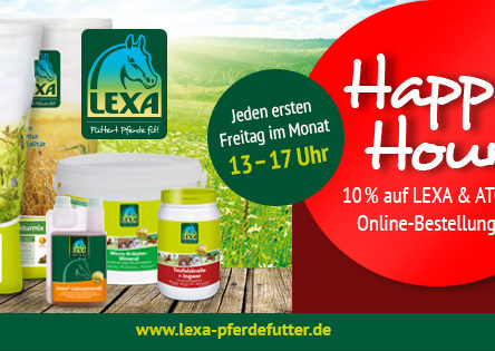 LEXA Pferdefutter: Gutscheincode im Juli