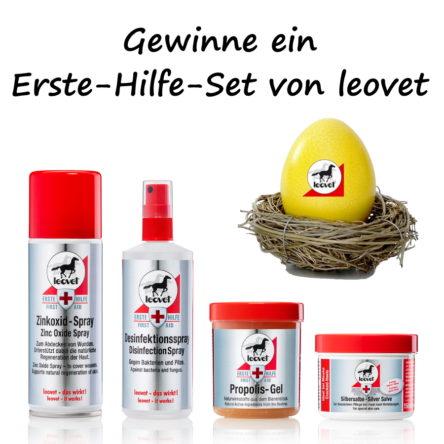 Oster-Gewinnspiel 2020: Erste-Hilfe-Set von leovet