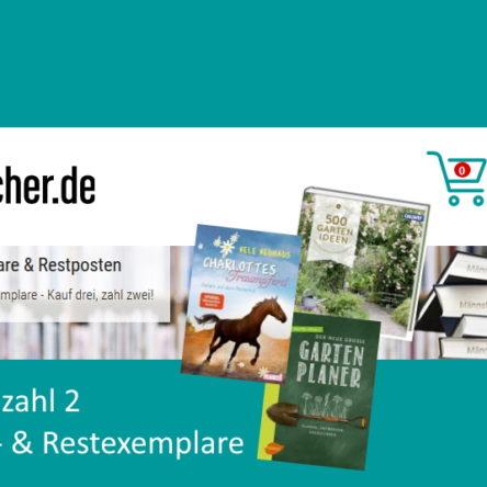 bücher.de – Kauf 3 – zahl 2 – Mängelexemplare