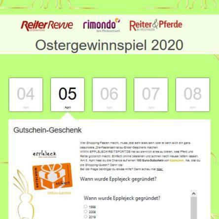 rimondo Oster-Gewinnspiel 2020
