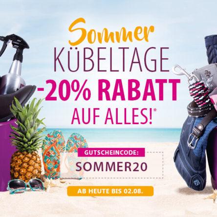 EQUIVA Sommer Kübeltage: 20 % Rabatt auf alles*
