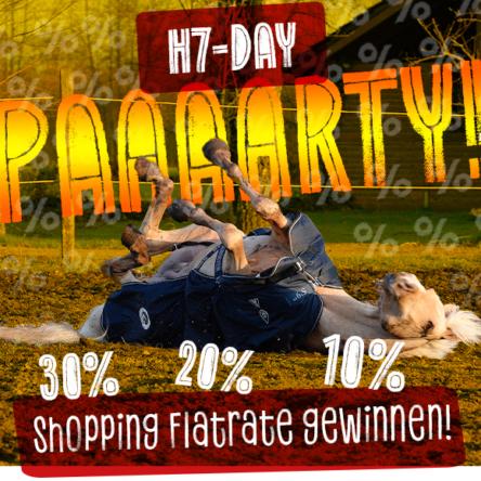 HorSeven Gutscheincode: 10 % Rabatt + Chance auf Shopping-Flatrate