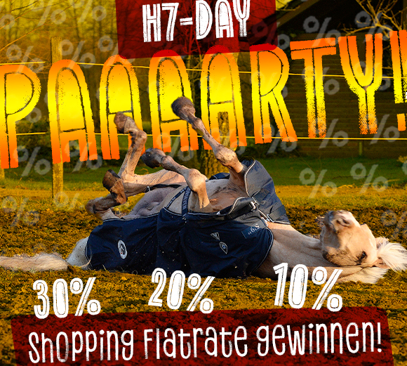 Horseven Day Shopping Flatrate gewinnen