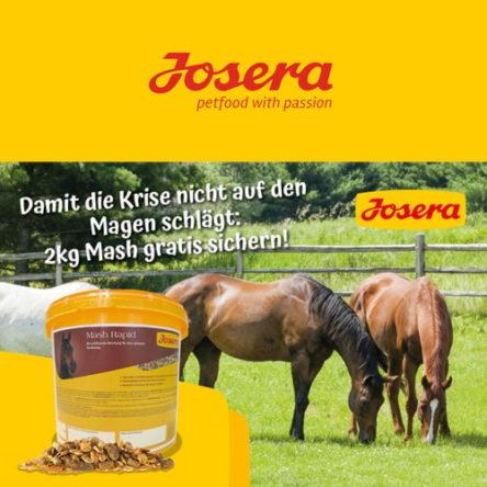 Josera Pferdefutter – Gutscheincodes im Juli