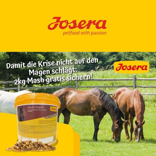 Josera Aktion im Juni - Gratis Mash