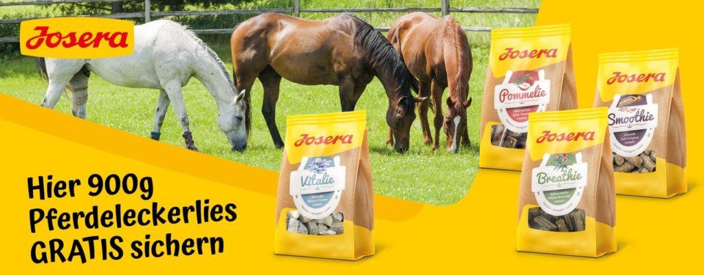 Josera Pferdeleckerlies gratis